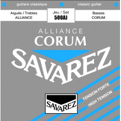 SAVAREZ Alliance Corum High Tension 500AJ - struny do gitary klasycznej