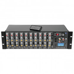 OMNITRONIC RM-1422FX USB Rack Mixer - mikser 14-kanałowy do rack'a