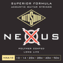 Rotosound Nexus Coated phosphor bronze 10-50 NXA10 - Struny do gitary akustycznej