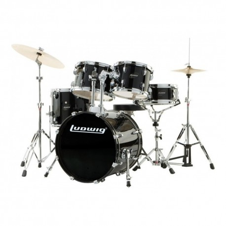 "Ludwig Accent ""Fuse"" z talerzami i hardware LC170"