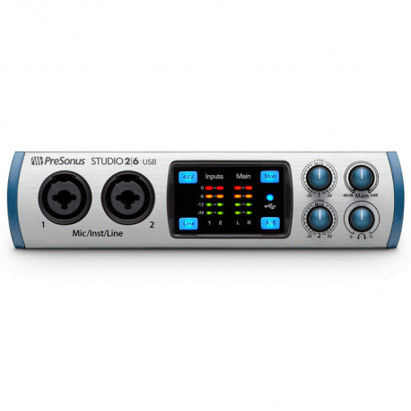 PreSonus Studio 26 – Interfejs Audio USB 2.0