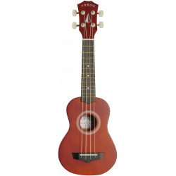 Arrow PB10 NT Natural Dark Top - ukulele sopranowe z pokrowcem