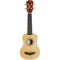 Arrow PB10 NA Natural Bright Top - ukulele sopranowe z pokrowcem