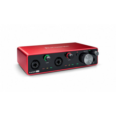 Focusrite Scarlett 4i4 3rd GEN - interfejs Audio USB